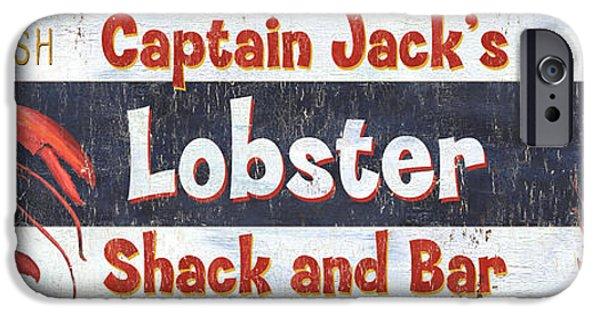 Captain Jack's Lobster Shack IPhone 6s Case by Debbie DeWitt