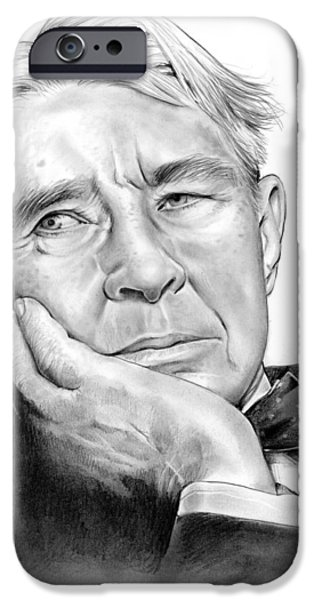 Carl Sandberg IPhone Case by Greg Joens