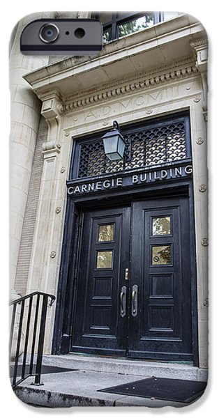 Carnegie Building Penn State  IPhone 6s Case by John McGraw