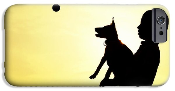 Catch IPhone Case by Tim Gainey