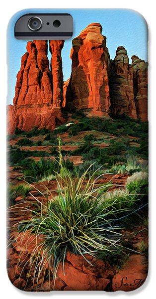 Cathedral 06-063 IPhone Case by Scott McAllister