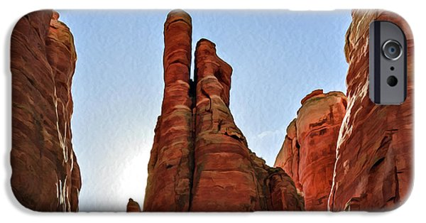 Cathedral Rock 05-155 IPhone Case by Scott McAllister