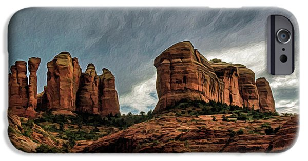 Cathedral Rock 06-027 IPhone Case by Scott McAllister