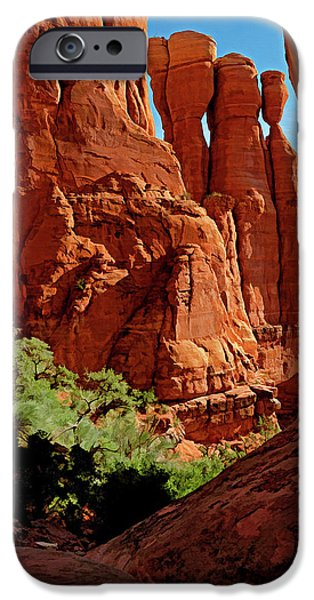 Cathedral Rock 06-124 IPhone Case by Scott McAllister