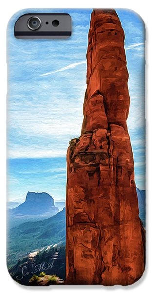 Cathedral Rock 06-137 IPhone Case by Scott McAllister
