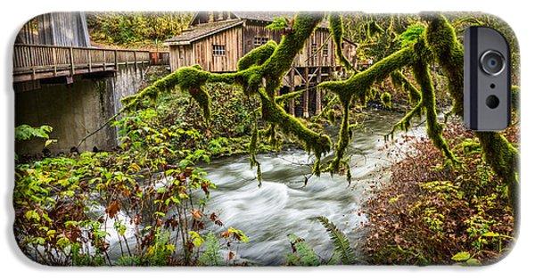 Cedar Creek Mill Mosses IPhone Case by Jamie Pham