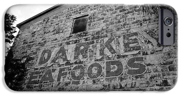 Cedar Key Sea Foods IPhone Case by David Lee Thompson