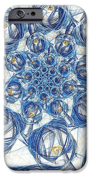 Cells IPhone Case by Anastasiya Malakhova