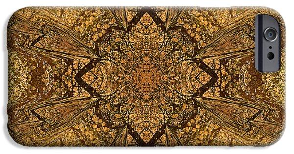 Celtic Mandala Abstract IPhone Case by Georgiana Romanovna