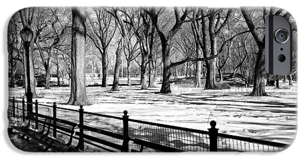 Central Park Snow IPhone 6s Case by John Rizzuto