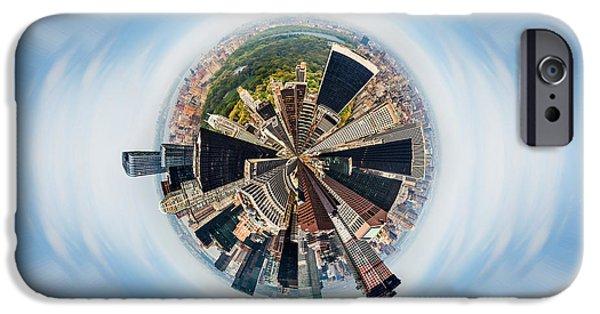 Eye Of New York IPhone Case by Az Jackson