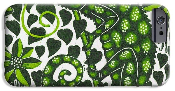 Chameleon IPhone Case by Nat Morley