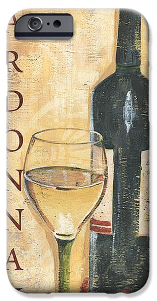Chardonnay Wine And Grapes IPhone Case by Debbie DeWitt