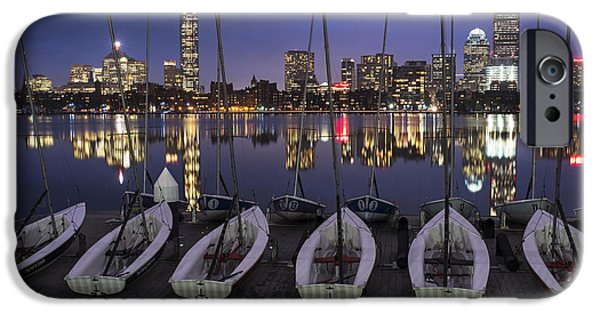 Charles River Boats Clear Water Reflection IPhone Case by Toby McGuire