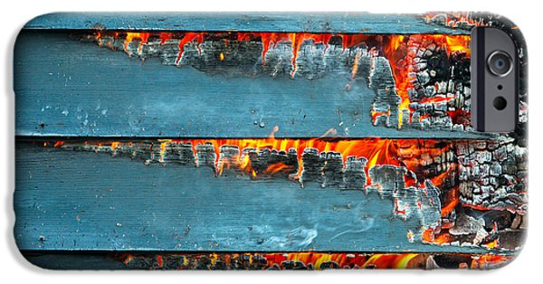 Charred Remains IPhone Case by Todd Klassy