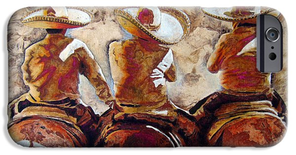 Charros IPhone Case by Jose Espinoza