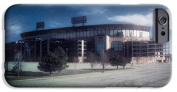 Chicago White Sox Cellular Field In November 01 IPhone Case by Thomas Woolworth