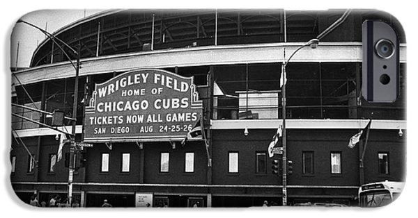 Chicago: Wrigley Field IPhone Case by Granger
