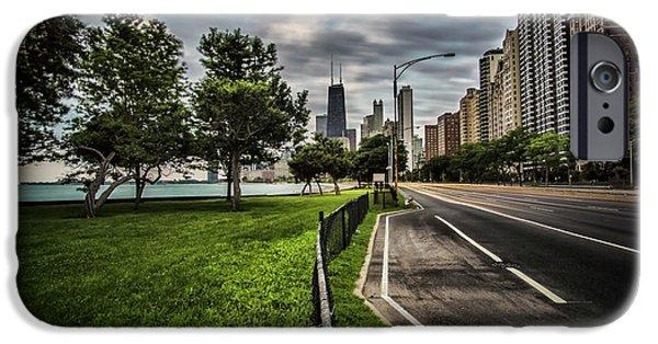 Chicago's Lake Shore Drive IPhone Case by Sven Brogren