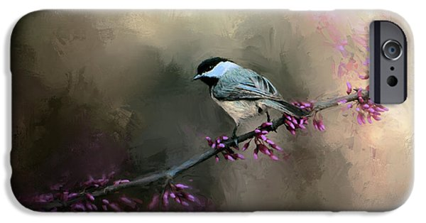 Chickadee In The Light IPhone 6s Case by Jai Johnson