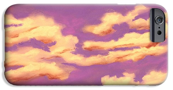 Childhood Memories - Sky And Clouds Collection IPhone Case by Anastasiya Malakhova