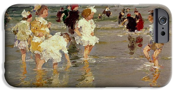 Children On The Beach IPhone 6s Case by Edward Henry Potthast