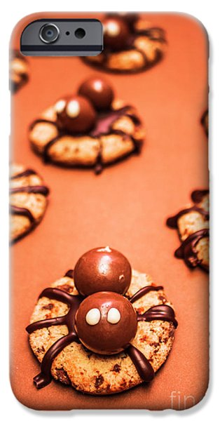 Chocolate Peanut Butter Spider Cookies IPhone 6s Case by Jorgo Photography - Wall Art Gallery