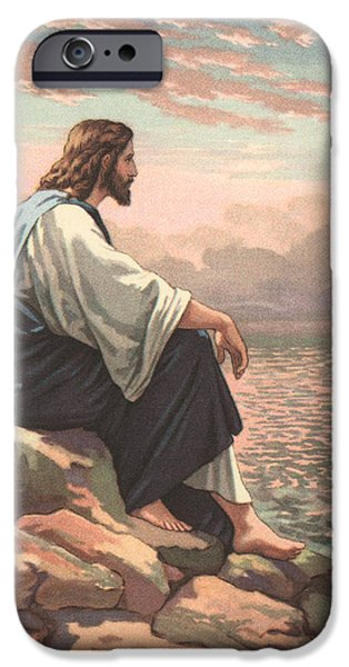 Christ By The Sea IPhone Case by American School