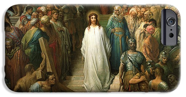 Christ Leaves His Trial IPhone Case by Gustave Dore