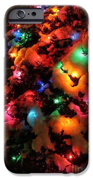 Christmas Lights Coldplay IPhone 6s Case by Wayne Moran