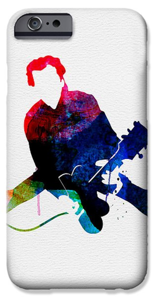 Chuck Watercolor IPhone Case by Naxart Studio