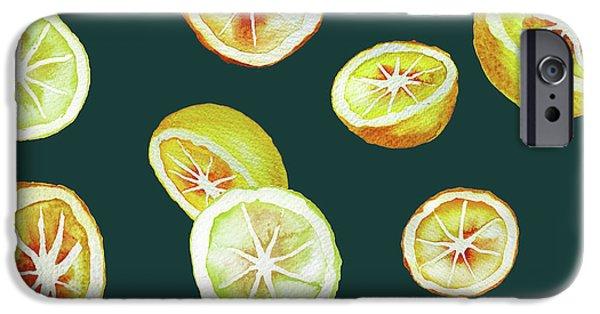 Citrus IPhone 6s Case by Varpu Kronholm