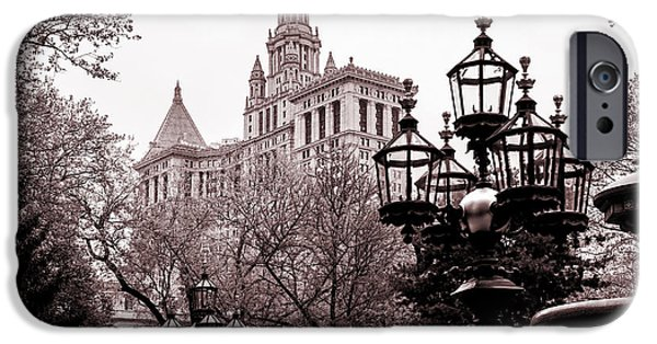 City Hall IPhone Case by Az Jackson