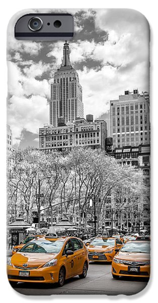 City Of Cabs IPhone 6s Case by Az Jackson