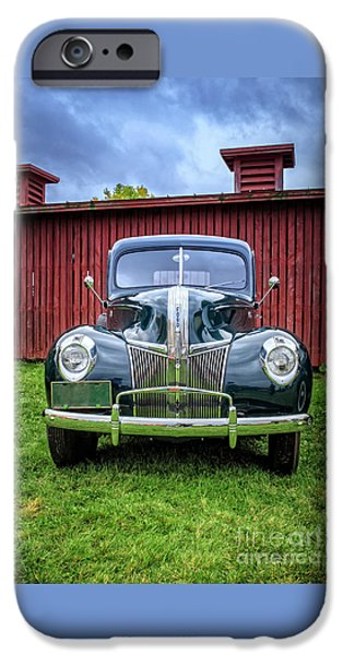 Classic Ford Canterbury Shaker Village IPhone Case by Edward Fielding