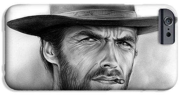 Clint IPhone Case by Greg Joens