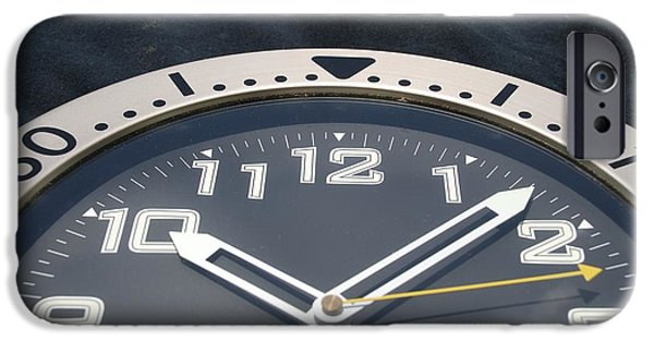 Clock Face IPhone Case by Rob Hans