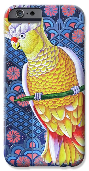 Cockatoo IPhone 6s Case by Jane Tattersfield