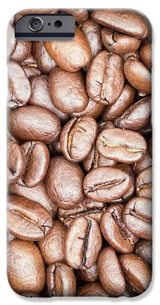 Coffee Beans IPhone Case by Wim Lanclus