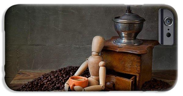 Coffee Break IPhone Case by Nailia Schwarz