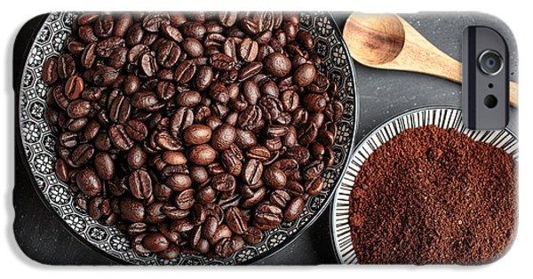 Coffee IPhone Case by Nailia Schwarz