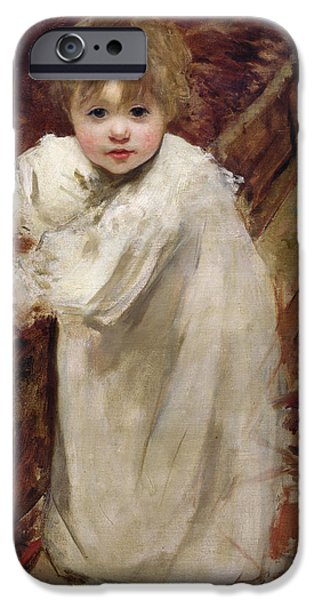 Colette's First Steps IPhone Case by Henri Gervex