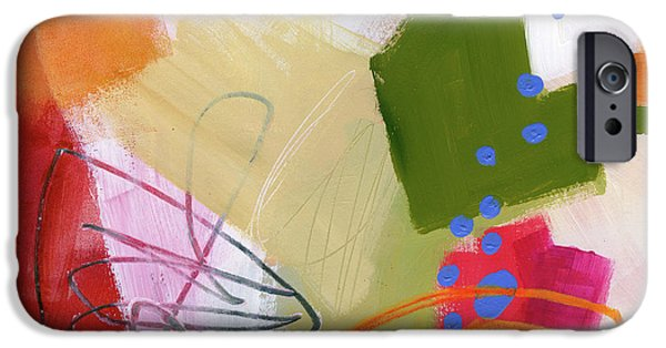 Color, Pattern, Line #4 IPhone Case by Jane Davies