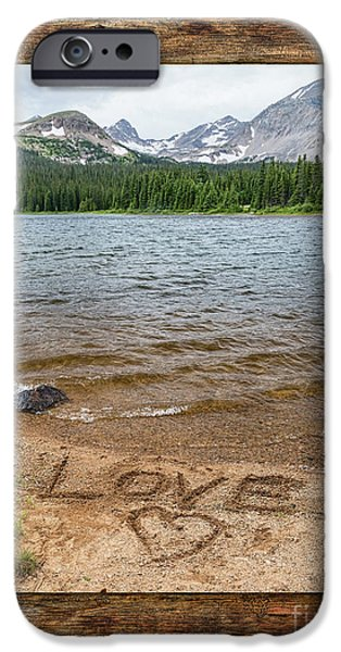 Colorado Love Window  IPhone Case by James BO Insogna