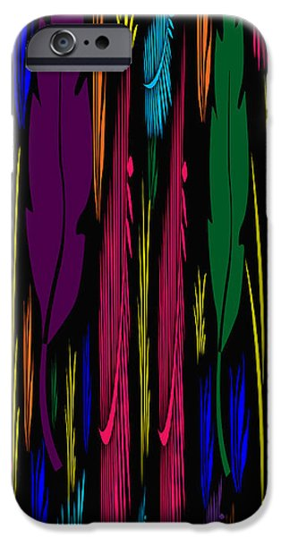 Colorful Feathers Abstract IPhone Case by Aimee L Maher Photography and Art Visit ALMGallerydotcom