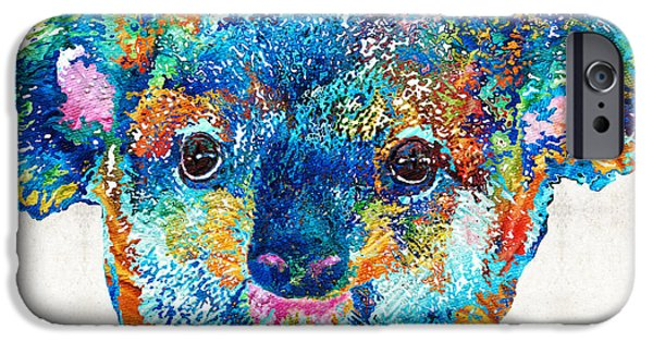 Colorful Koala Bear Art By Sharon Cummings IPhone 6s Case by Sharon Cummings