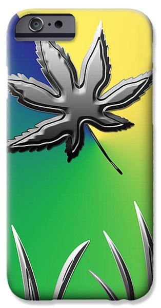 Colorful Silverleaf Abstract IPhone Case by Aimee L Maher Photography and Art Visit ALMGallerydotcom