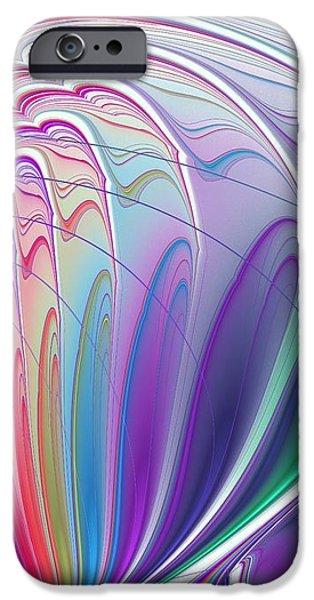 Colorful Waves IPhone Case by Anastasiya Malakhova