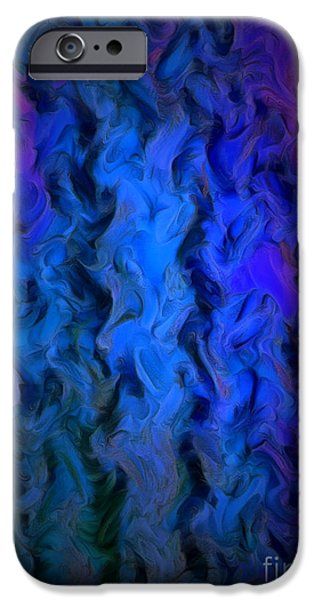Coming Out Of The Dark IPhone Case by Krissy Katsimbras