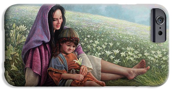Consider The Lilies IPhone Case by Greg Olsen
